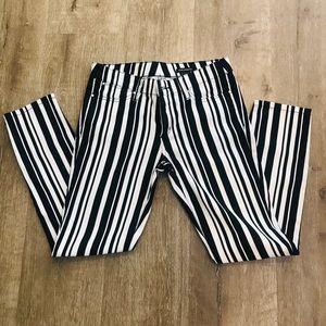 Club Monaco Striped Pants NWT retail 129.90